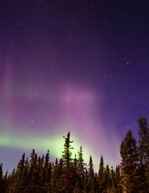 Evening Aurora Pursuit